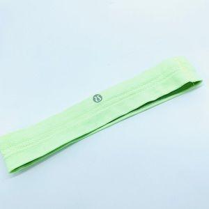 LULULEMON NEON GREEN YELLOW Elastic HEADBAND